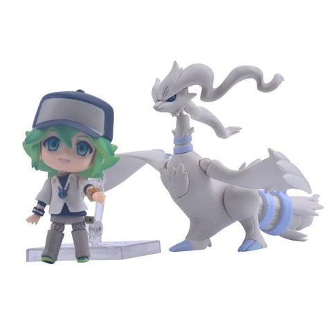 Pokemon Nendoroid Display N with Legendary Reshiram Action Figure