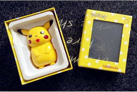Pokemon Pikachu Power Bank Portable Charger 10,000mAh