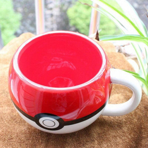 Pokemon Red Pokeball Mug