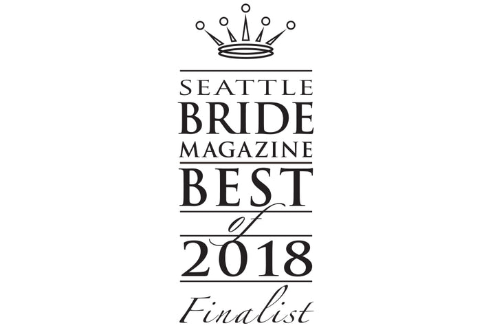 Seattle Bride Best of Custom Jewelry Finalist