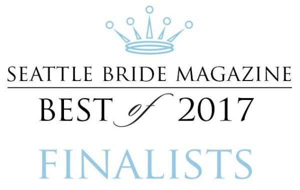 Seattle bride 2017 finalist