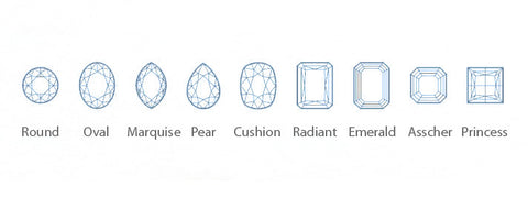 Diamond Shapes Available