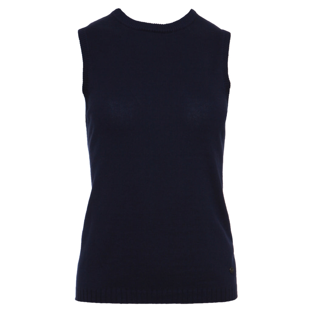 Pearl - Sleeveless crew neck