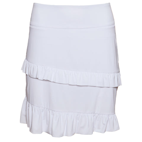 SELENA - Pull-on ruffle skort