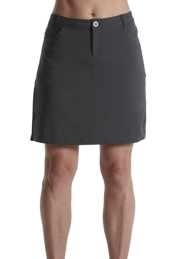 "ALLIE - Printed 18"" skort"