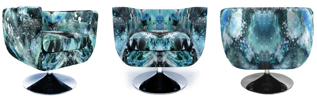 SONYA ROTHWELL x GALLERY BEAUTIFUL NEBULA TUB CHAIR
