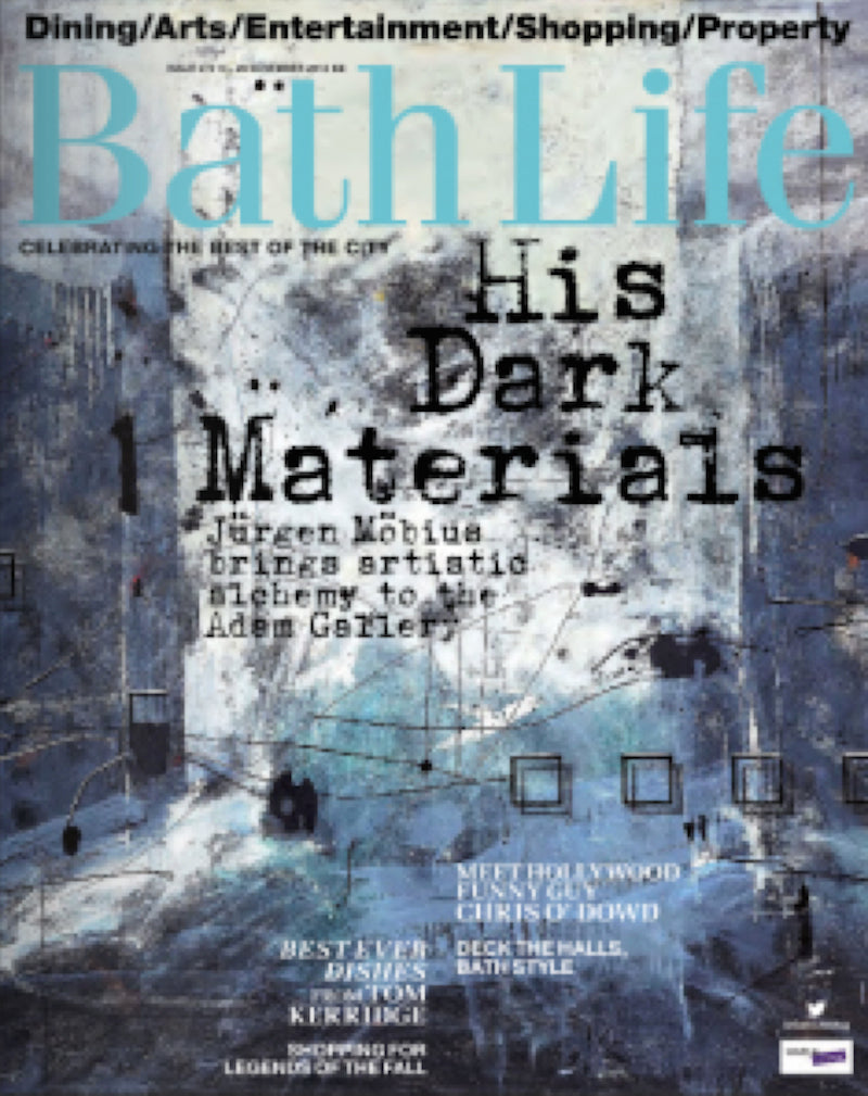 Bath Life Magazine November 2014 features of Sonya Rothwell's Gallery Beautiful Grand Gallery Opening