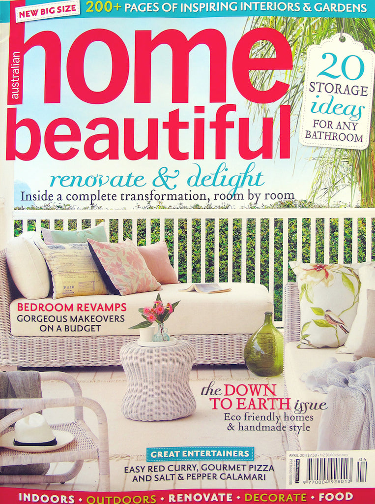 Australia'sHome Beautiful Magazine March 2011 feature of Sonya Rothwell's paintings at Gallery Beautiful