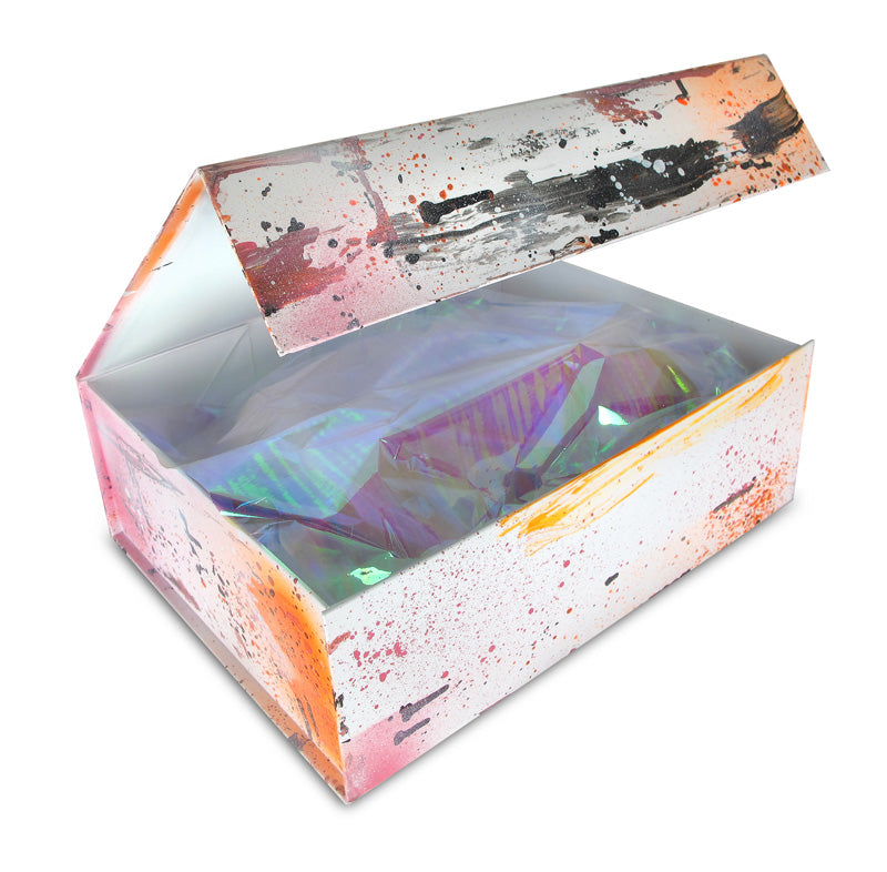 Complimentary Box D'Art hand-painted by Sonya Rothwell with every Couture D'Art order