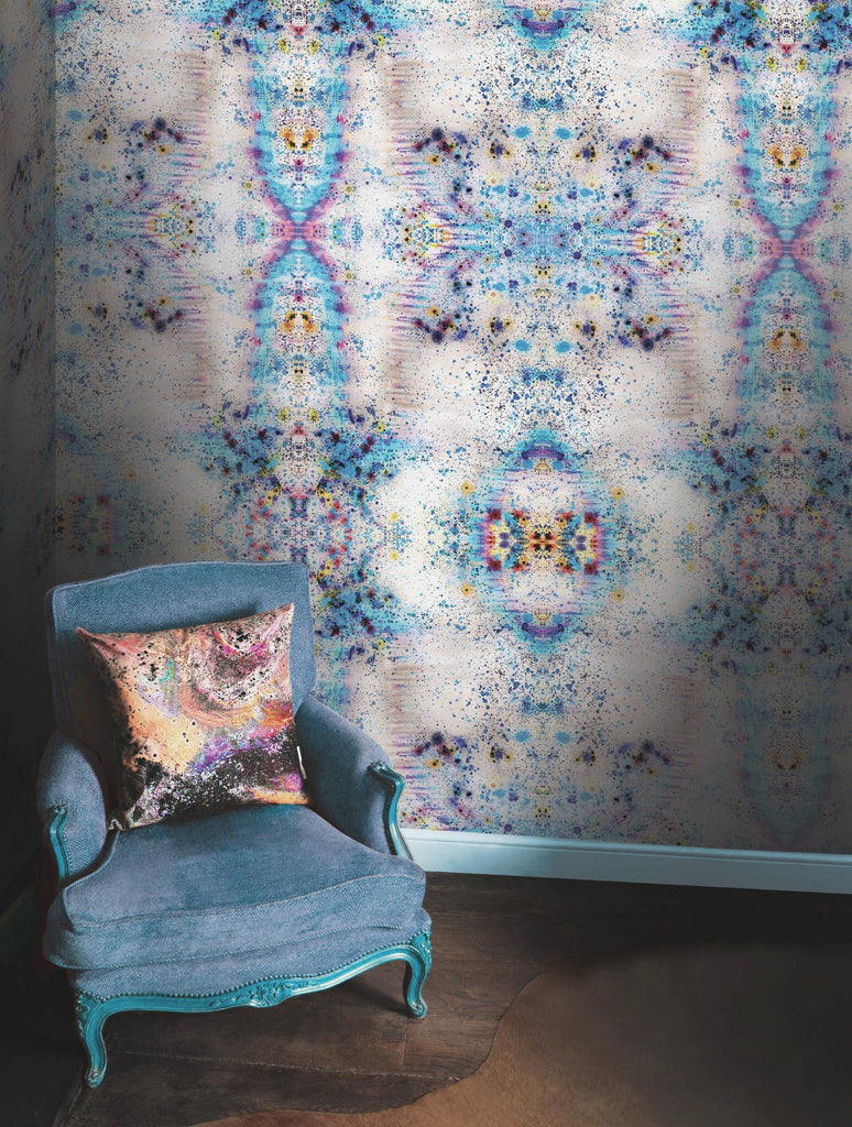 SONYA ROTHWELL RAINBOW NAGA WALLPAPER : ELECTRIC BLUE