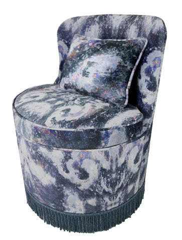 TRITON TUB DINING CHAIR : MOKSHA ANISE VELVET
