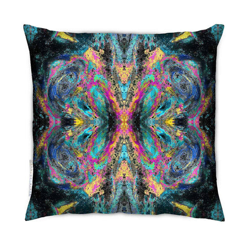 SONYA ROTHEWELL BUTTERFLY EFFECT CUSHION : MAGIC NOIR