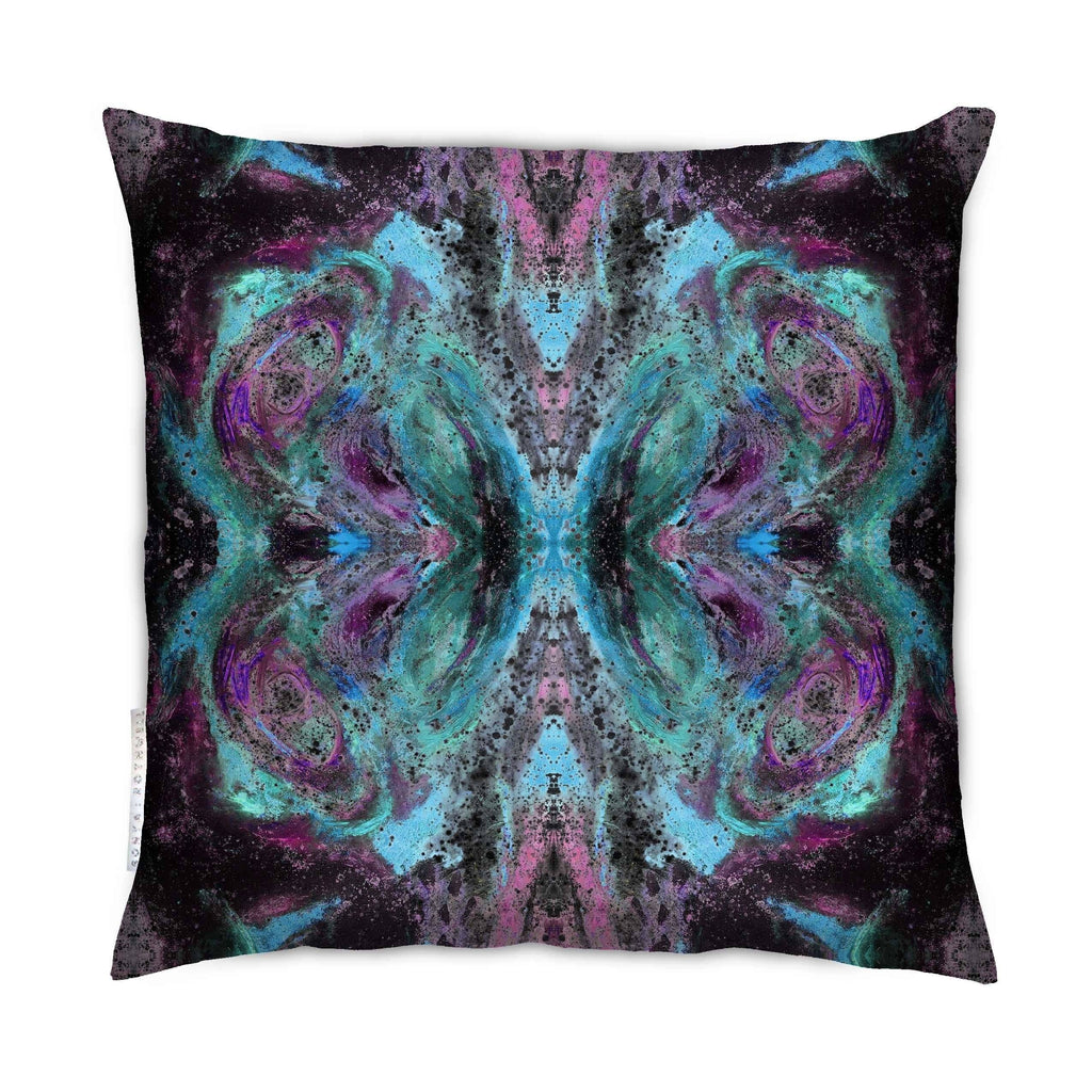 Cushion - SONYA ROTHEWELL BUTTERFLY EFFECT CUSHION : VIOLET NOIR