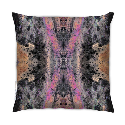 SONYA ROTHEWELL CONNECTION CUSHION : RUST NOIR