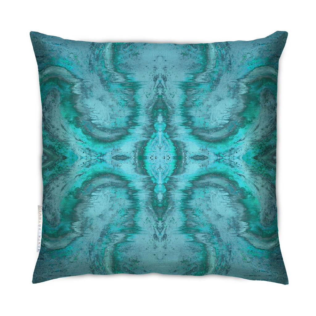 Cushion - SONYA ROTHEWELL DIVINE MATRIX CUSHION : GLACIER