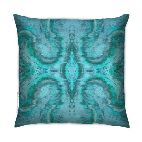 SONYA ROTHEWELL DIVINE MATRIX CUSHION : GLACIER