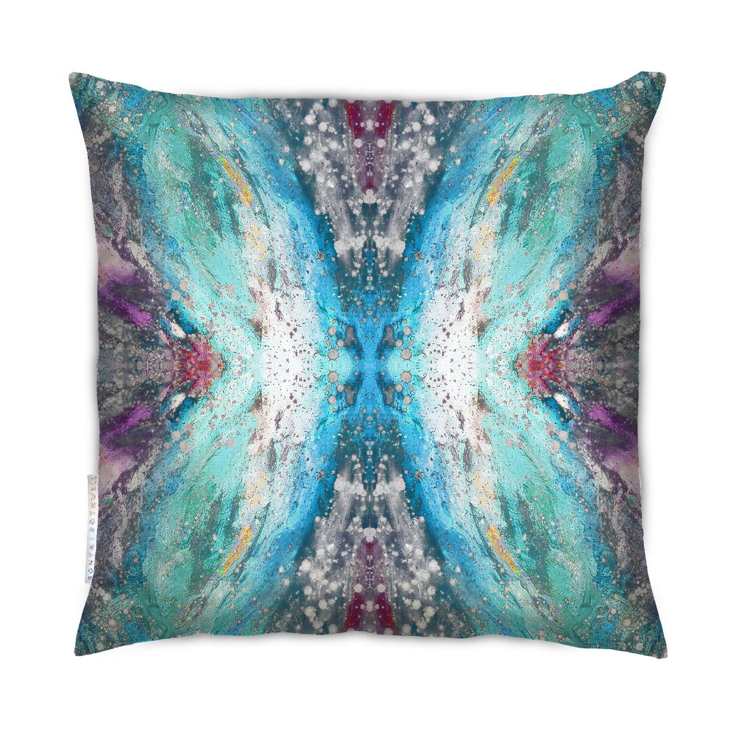 Cushion - SONYA ROTHEWELL FLUTTER EFFECT CUSHION : BLU