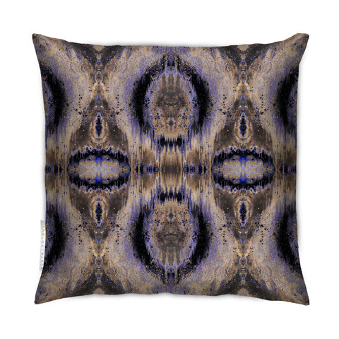SONYA ROTHEWELL INFINITY CUSHION : PURPLE NOIR