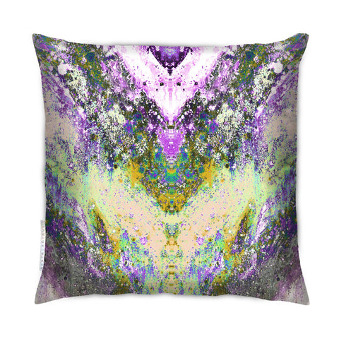 SONYA ROTHWELL VORTEX CUSHION : PURPLE NOIR