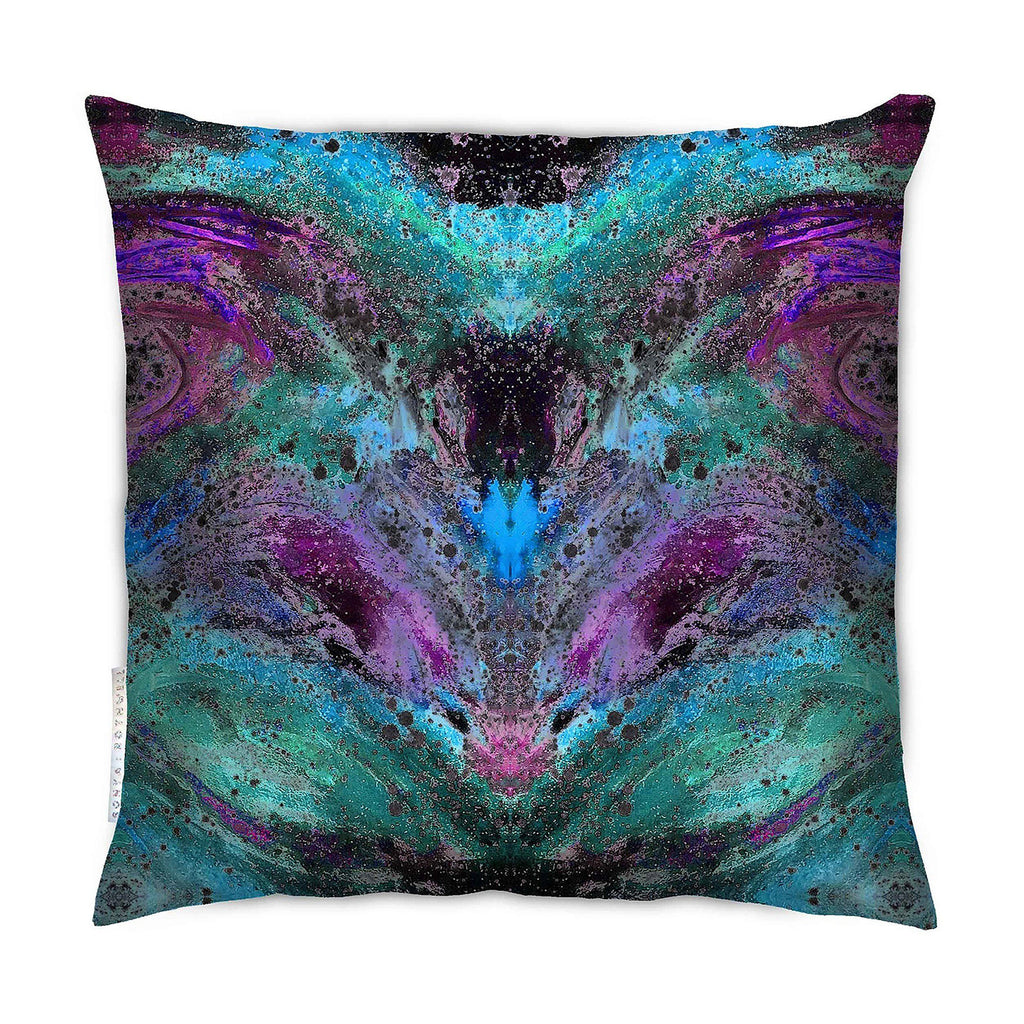 Cushion - SONYA ROTHEWELL INTERSECTION CUSHION : VIOLET NOIR