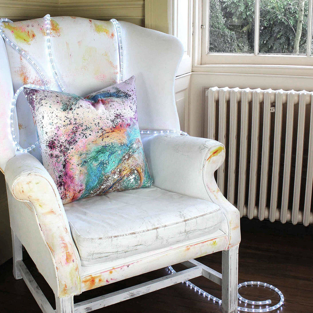 Cushion - SONYA ROTHEWELL RAPTURE CUSHION : BLUE