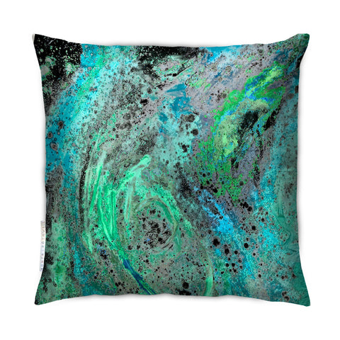 SONYA ROTHEWELL RAPTURE CUSHION : CYAN