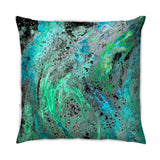 Cushion - SONYA ROTHEWELL RAPTURE CUSHION : CYAN