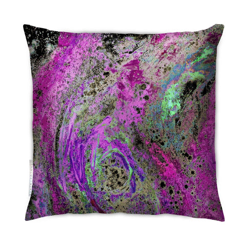 SONYA ROTHEWELL RAPTURE CUSHION : FUSCH-IME NOIR