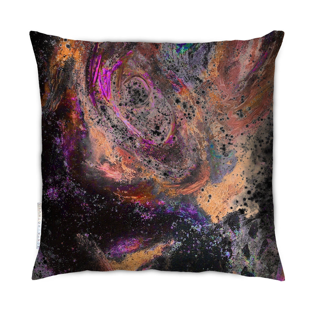 Cushion - SONYA ROTHEWELL RAPTURE CUSHION : RUST NOIR