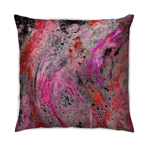 SONYA ROTHEWELL RAPTURE CUSHION : SCARLET NOIR