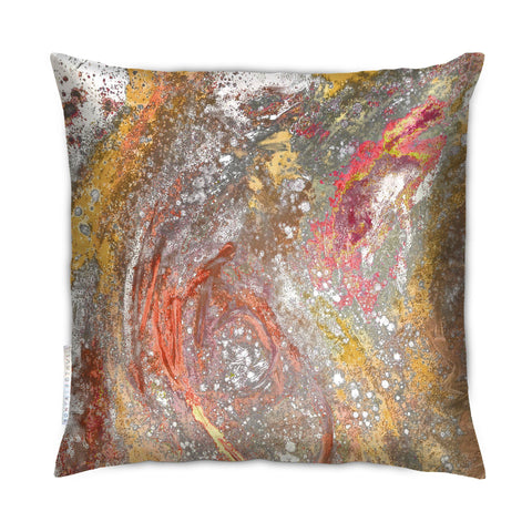 SONYA ROTHEWELL RAPTURE CUSHION : TANGERINE