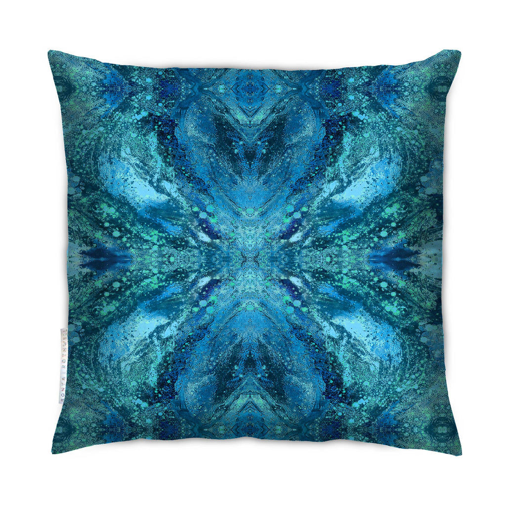 Cushion - SONYA ROTHWELL AMULET CUSHION : LAKE