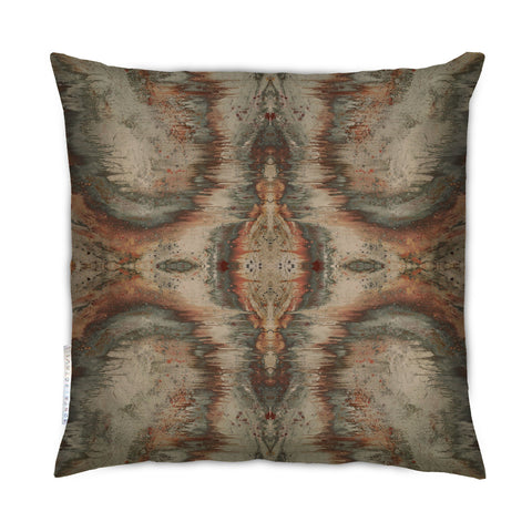 SONYA ROTHWELL DIVINE MATRIX CUSHION : OLIVE GROVE