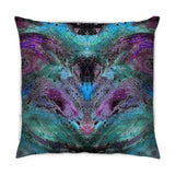 Cushion - SONYA ROTHWELL INTERSECTION CUSHION : VIOLET NOIR