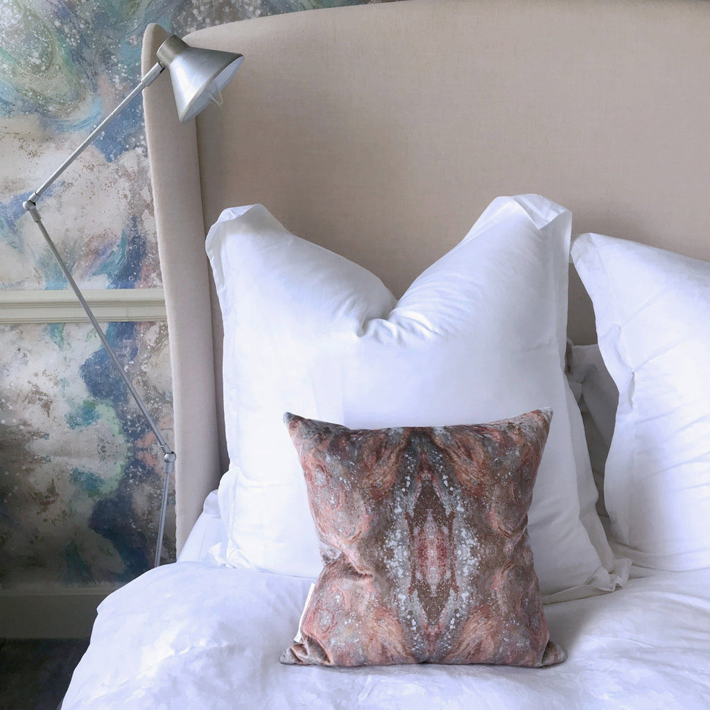 Cushion - SONYA ROTHWELL NIRVANA CUSHION : CHAI LATTE