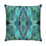 Cushion - SONYA ROTHWELL NIRVANA CUSHION : CYAN GREEN