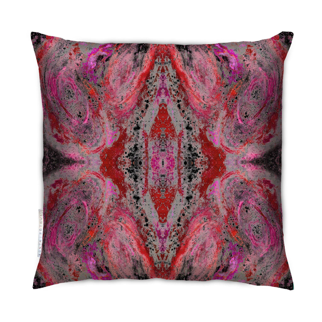 Cushion - SONYA ROTHWELL NIRVANA CUSHION : SCARLET NOIR