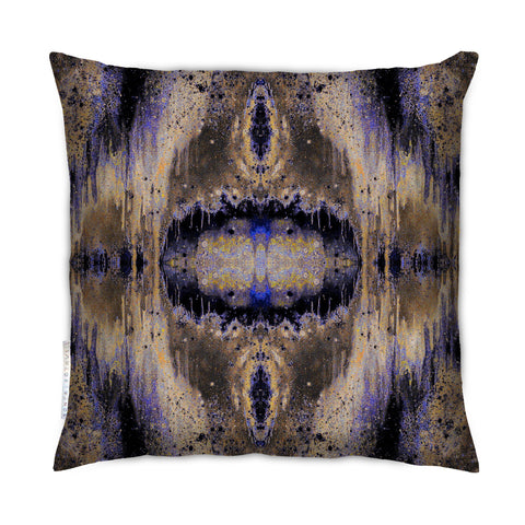 SONYA ROTHWELL OCTAHEDRON CUSHION : PURPLE NOIR