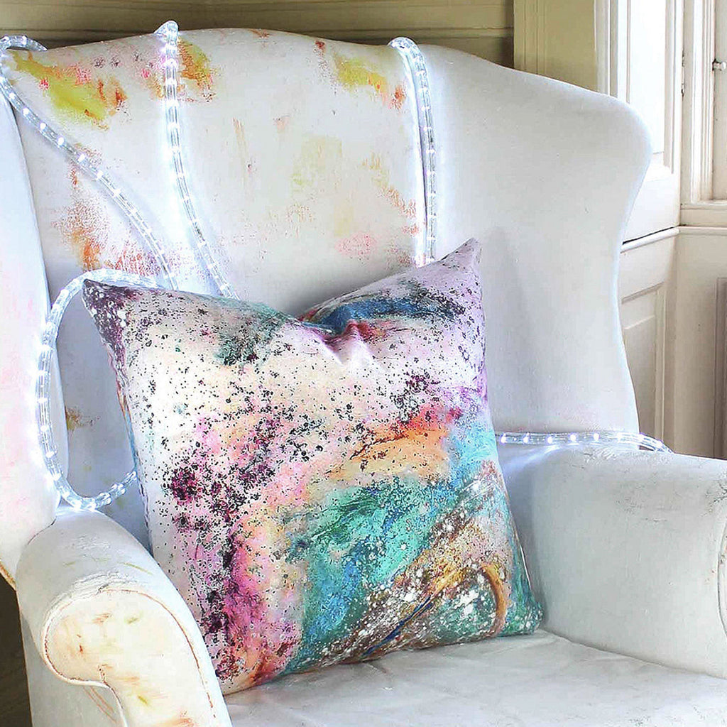 Cushion - SONYA ROTHWELL RAPTURE CUSHION : BLUE