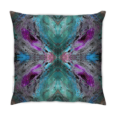 SONYA ROTHWELL SPACETIME CUSHION : VIOLET NOIR