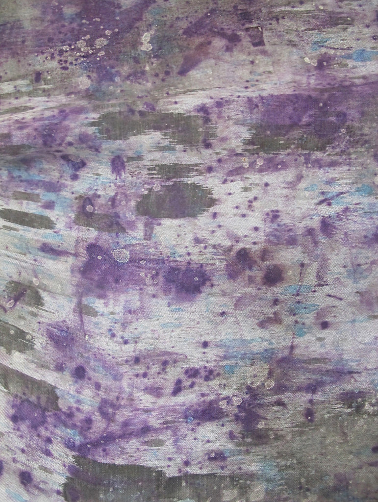 Fabric - PURPLE HAZE LINEN
