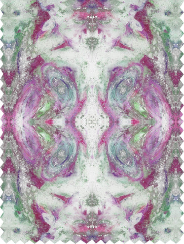 SONYA ROTHWELL GREAT GANESH FABRIC : FUSCHIA
