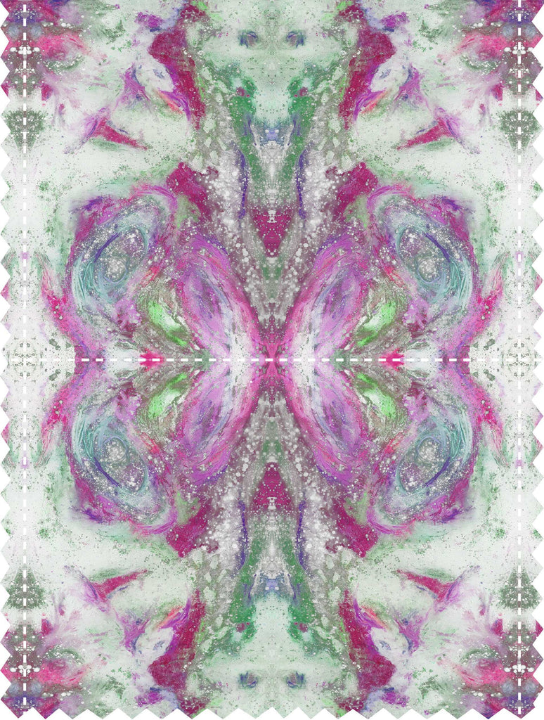 Fabric - SONYA ROTHWELL GREAT GANESH FABRIC : FUSCHIA