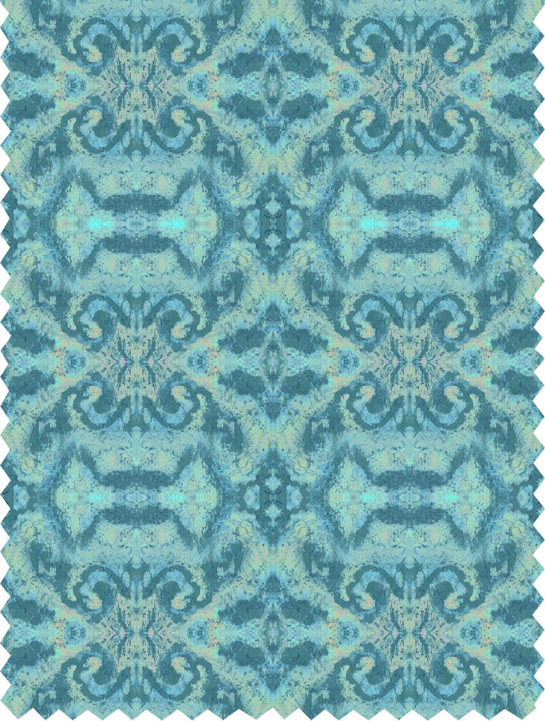 Fabric - SONYA ROTHWELL SEKHMET FABRIC : SEA