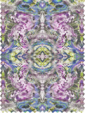 Fabric - SONYA ROTHWELL ZERO POINT FABRIC : LILAC BLUE