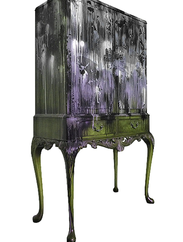 Furniture - KRINKS CABINET PURPLE