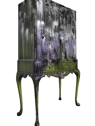 KRINKS CABINET PURPLE