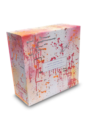 HAND PAINTED BOX : LARGE