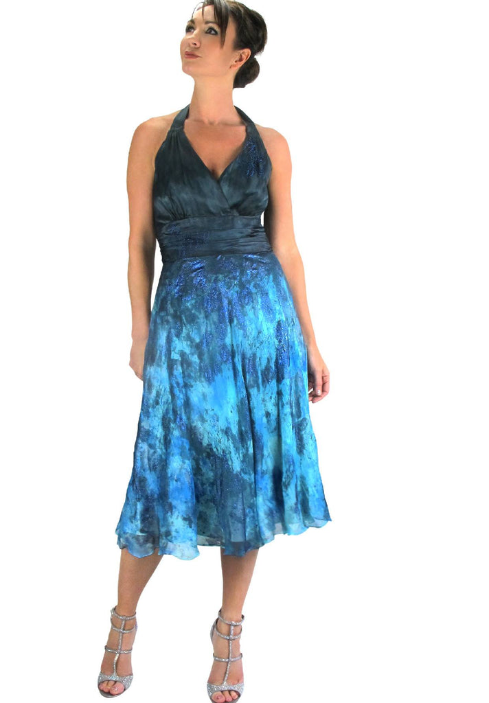 GOWNS : FROCKS - GALACTIC OCEAN GOWN
