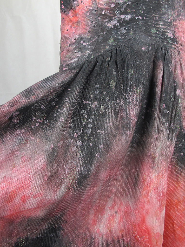 GOWNS : FROCKS - PINK CONSTELLATION GOWN